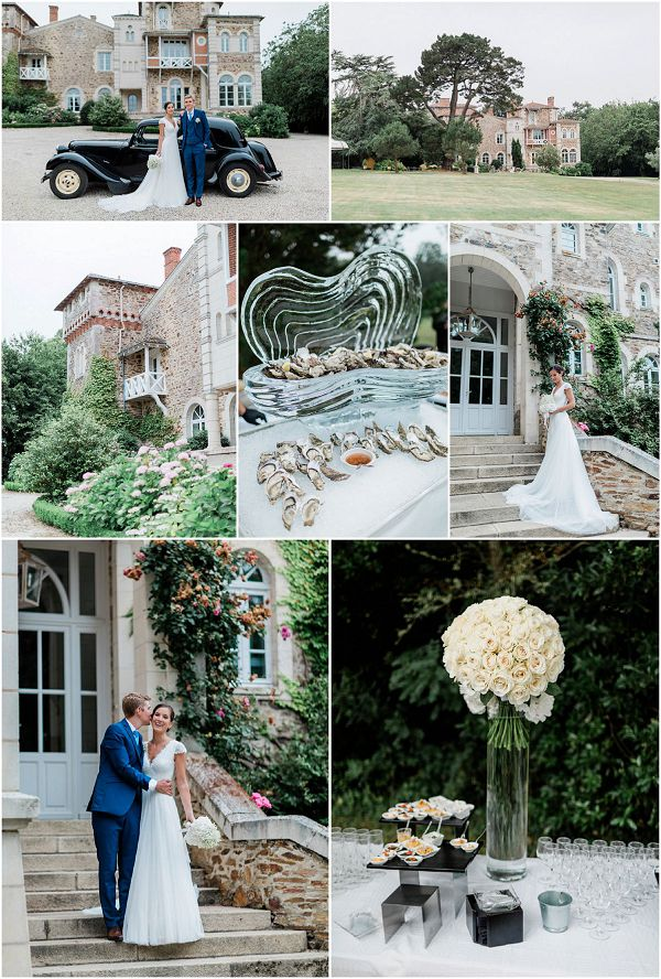 Rosa Clara Bride for Vendee Wedding Snapshot * Image by Thomas Raboteur