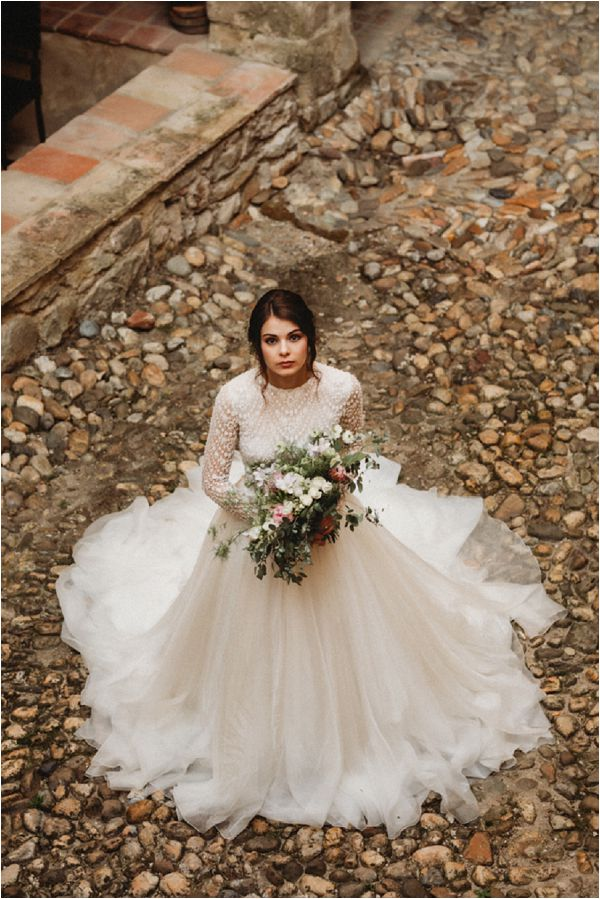 bridal portraits in France * Image by Pattie Fellowes