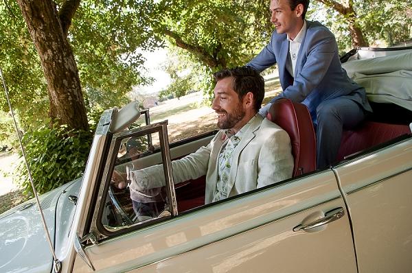 chateau wedding car