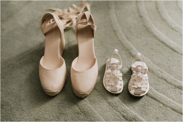 destination wedding bridal shoes* Images by Weddings Provence