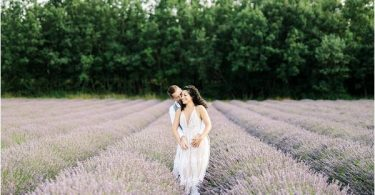 engagement shoot in Provence