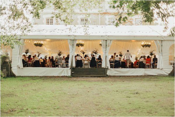 marquee wedding reception | Image by Matthias Toth