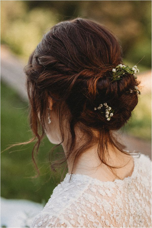 romantic and soft bridal up do * Image by Pattie Fellowes
