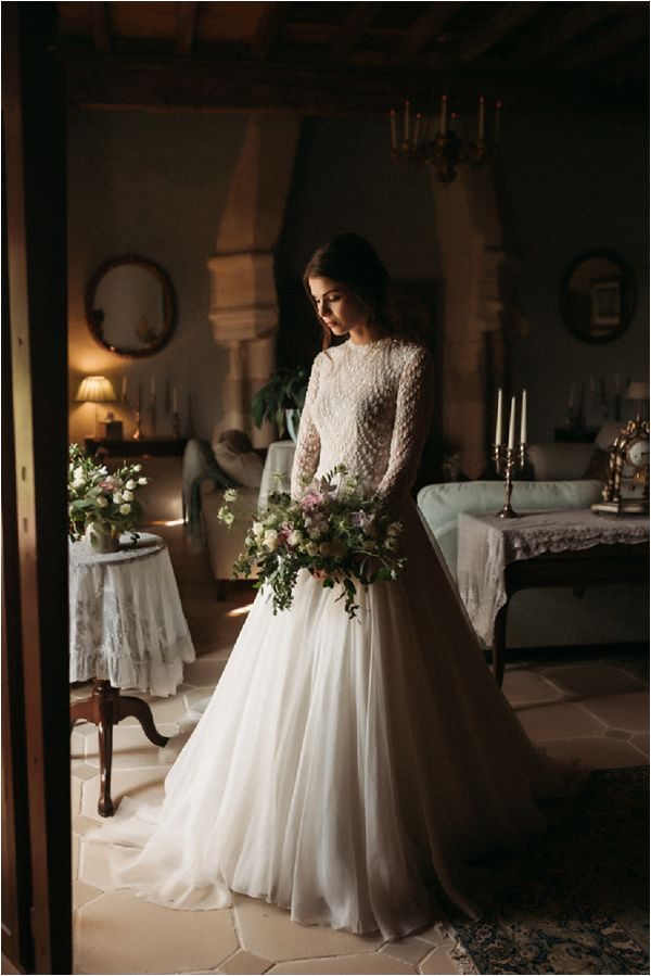 romantic fashion bridal style * Image by Pattie Fellowes