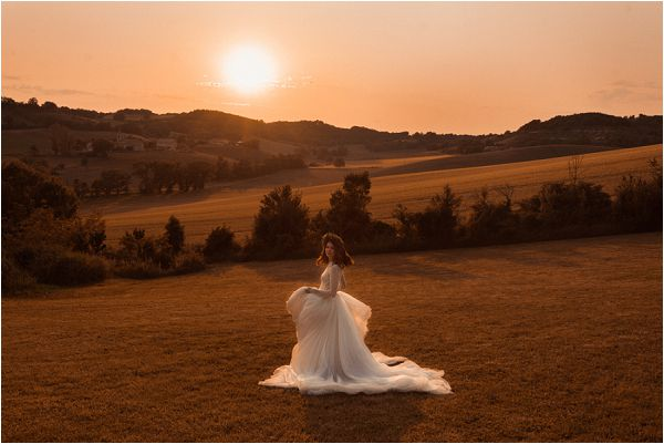 sunset bride * Image by Pattie Fellowes