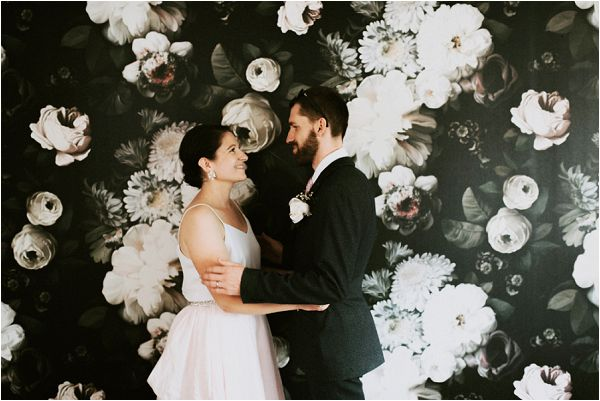 two tone bridal dress * Image by tub of jelly