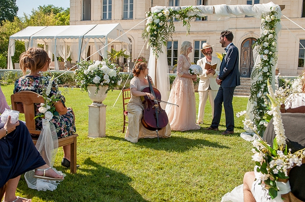 wedding day musician france