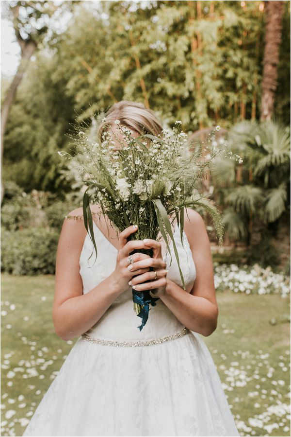 wild flower wedding bouquet  * Images by Weddings Provence