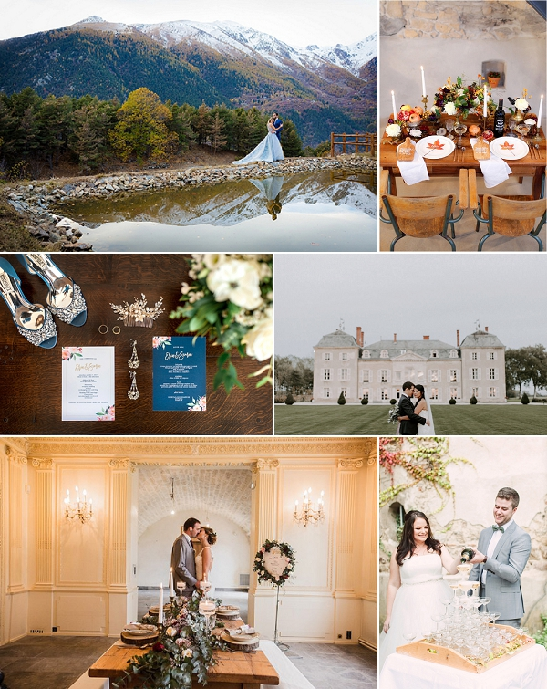 10 Best Fall Weddings in France Snapshot