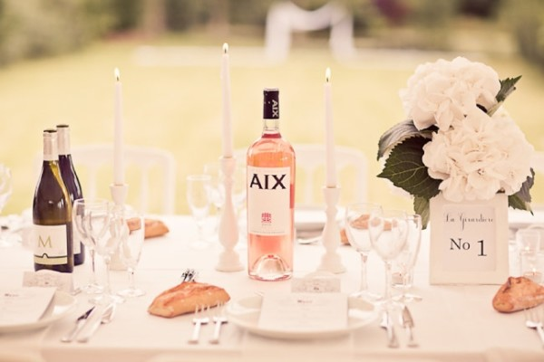 4 French Wedding Drinks Rose Wine LoveasArt