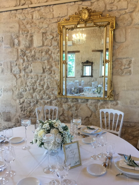 Chateau Gassies Table Setting
