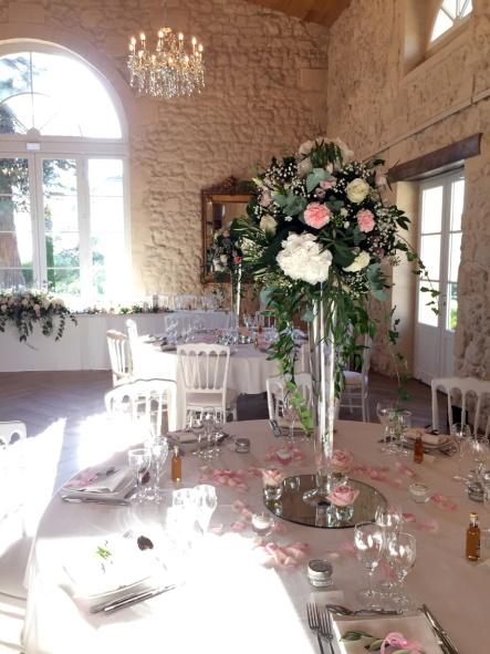 Chateau Gassies Floral Arrangement