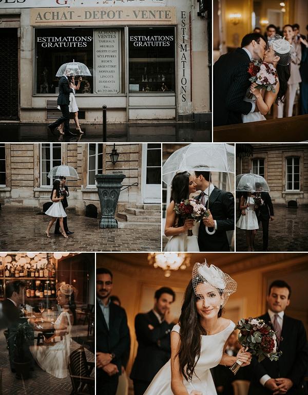 Elegant Hôtel des Grands Boulevards Wedding