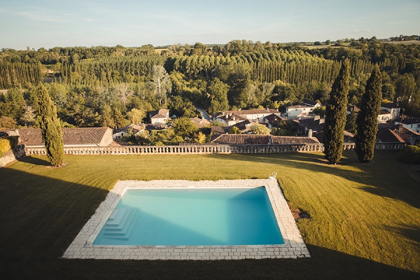 Gascony France wedding chateau