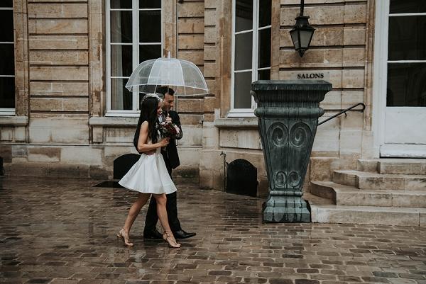 Hôtel des Grands Boulevards Rainy Wedding