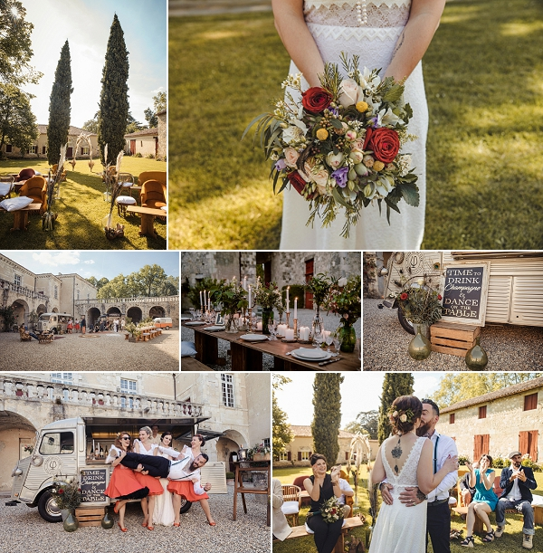 Modern and Eco-Friendly Wedding in France Snapshot
