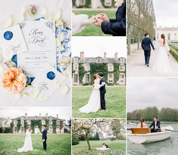 Palace of Versailles Wedding in Gardens Snapshot