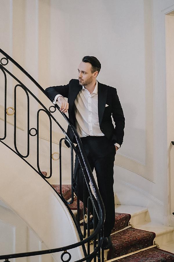 Parisian inspired groom