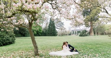 blossom spring wedding