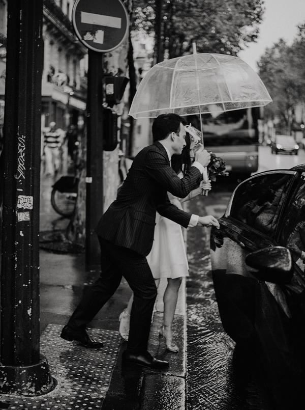 chic parisian wedding