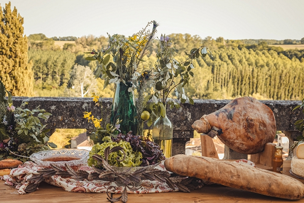 eco-friendly wedding food