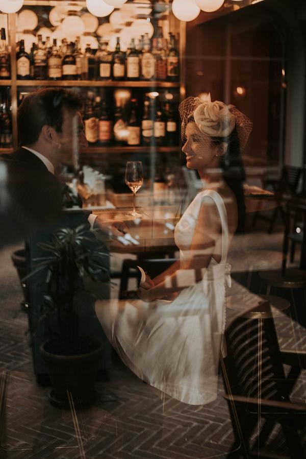 elegant parisian bride