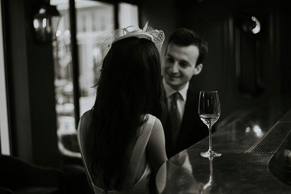 intimate paris wedding