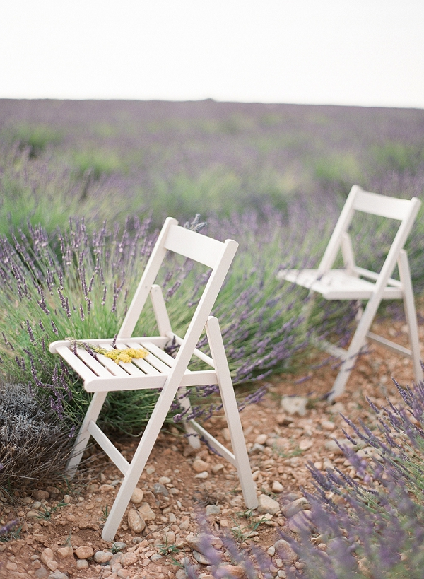 lavender wedding details