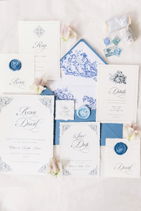 luxury stationery suite wedding