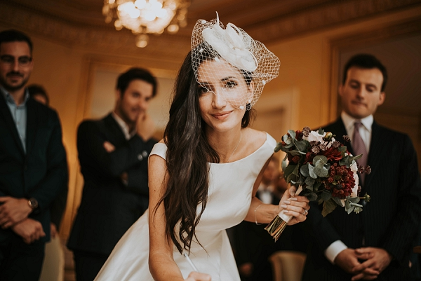 parisian wedding florist
