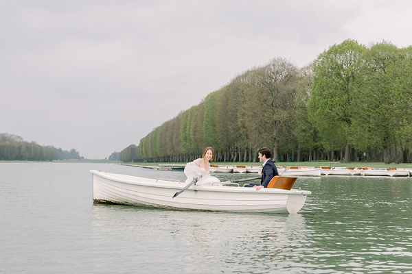 row boat wedding