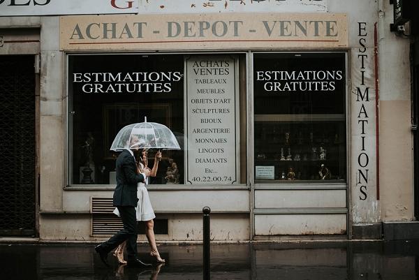 wedding photography rain photos