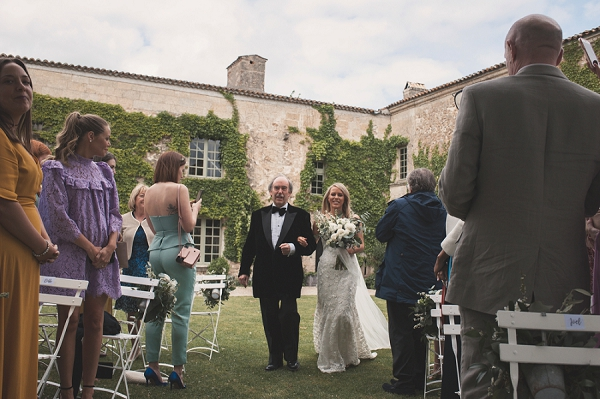 Chateau Rigaud real wedding
