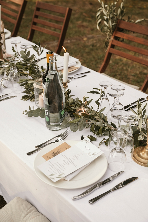 Chateau St Michel relaxed wedding