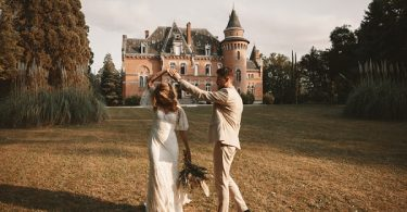 Chateau St Michel wedding photos