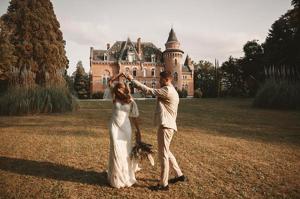 Chateau St Michel wedding photos