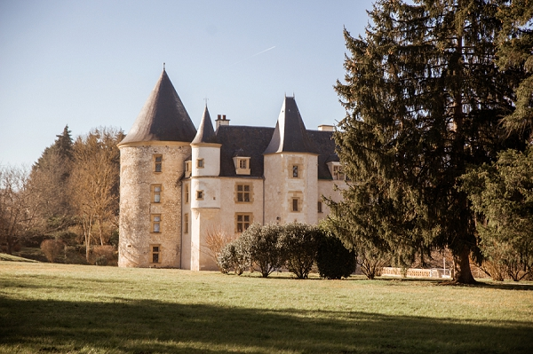 Chateau de Saint Martory real wedding