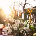 Chateau Siradan Outdoor Wedding Table Decorations