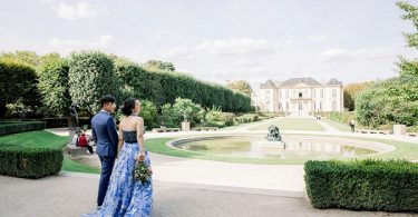 Elopement in Rodin Museum & Ritz Paris