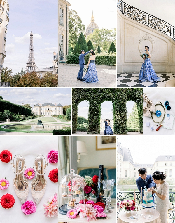Elopement in Rodin Museum & Ritz Paris Snapshot
