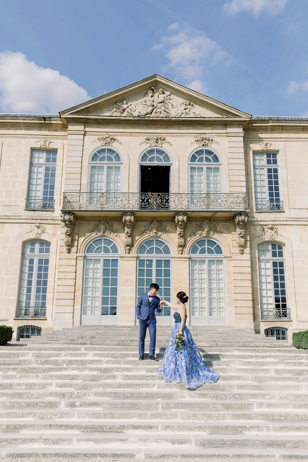Elopement in Rodin Museum photos