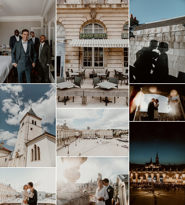 French Chic real wedding Nancy Snapshot