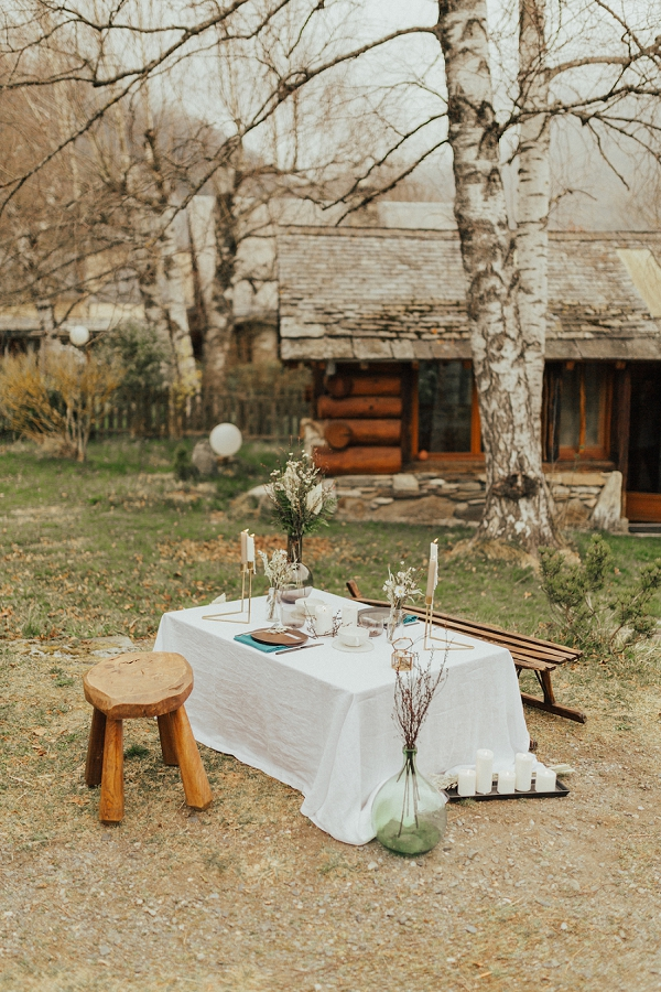 French Pyrenees wedding ideas