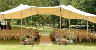 Hiring a tent or furniture for your wedding