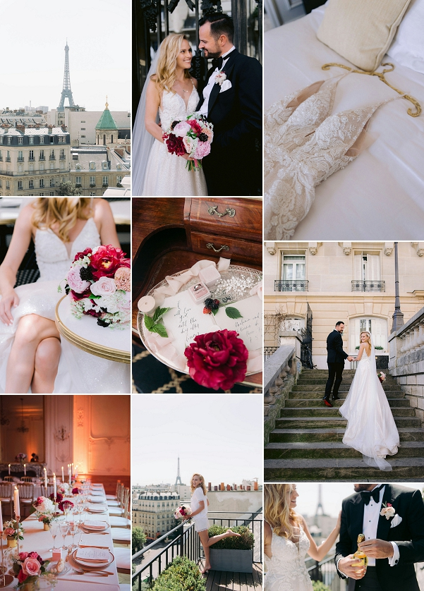 Intimate wedding in Paris Snapshot