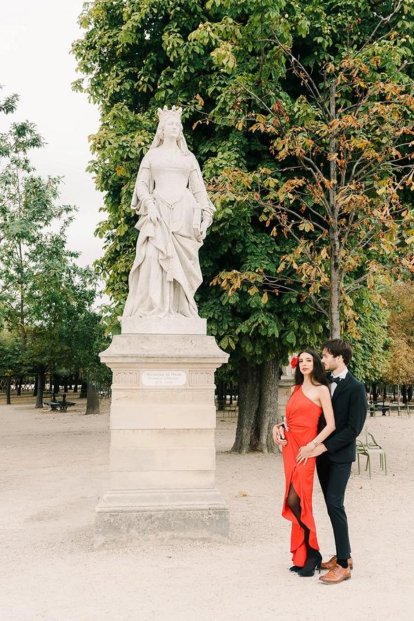 Paris Destination Engagement photographer