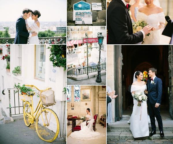Paris wedding at Salons France-Amérique Snapshot