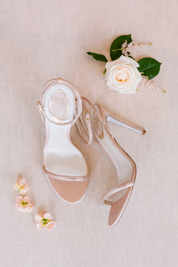 René Caovilla bridal shoes