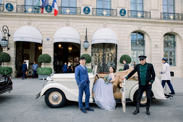 Ritz Paris elopement