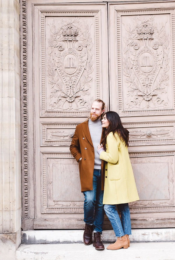 autumn Paris Anniversary Shoot
